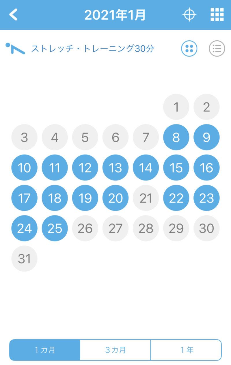 ダイエットトレーニングの実施記録【2週間経過】