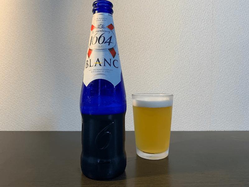 フランスの飲みやすい白ビールクローネンブルグブラン(フランス)