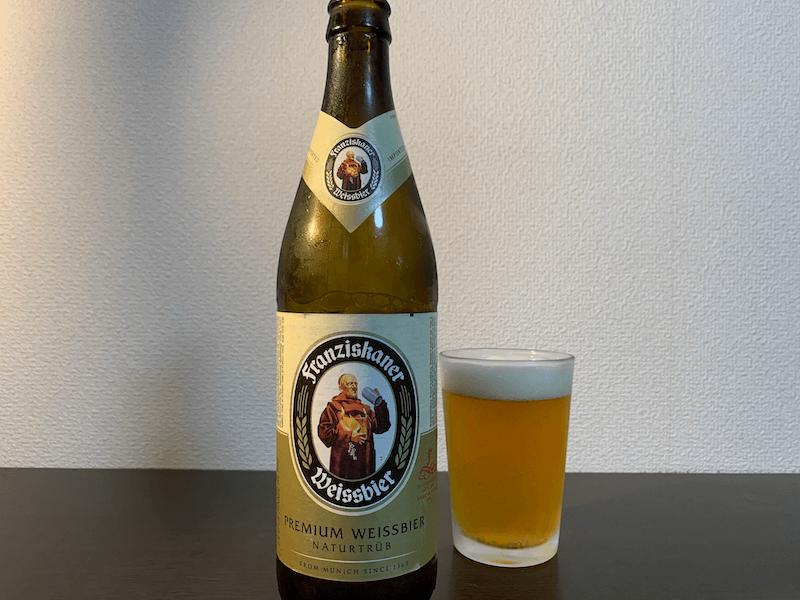 ドイツの飲みやすいおすすめ白ビールフランチスカーナー・へフェヴァイスビア(ドイツ)