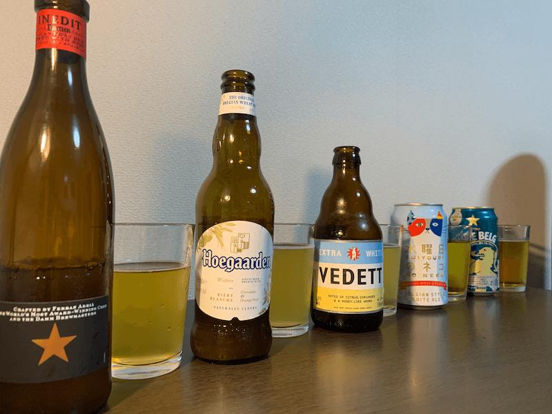 圧倒的に飲みやすいおすすめ白ビール5選