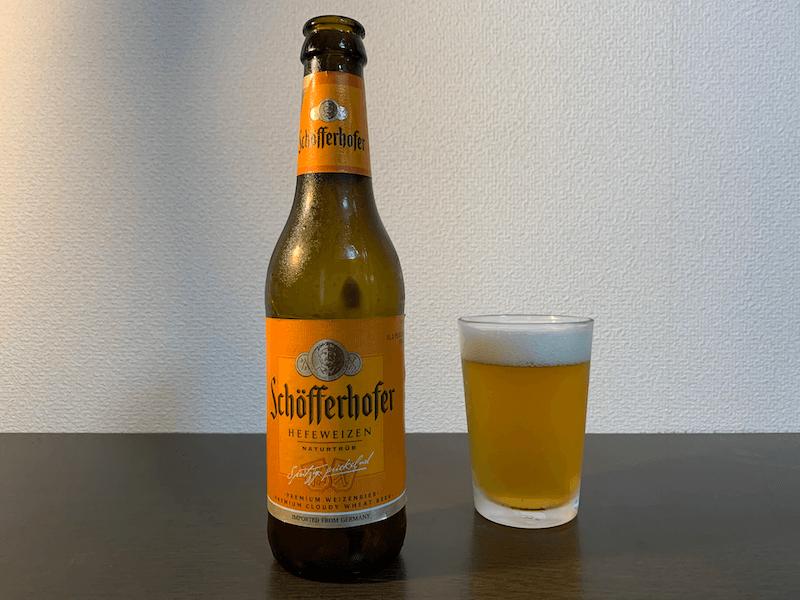 ドイツの飲みやすいおすすめ白ビールシェッファーホッファー・ヘフェヴァイツェン(ドイツ)