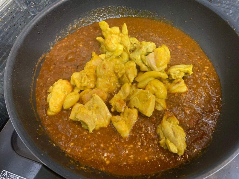 バターチキンカレーの作り方19